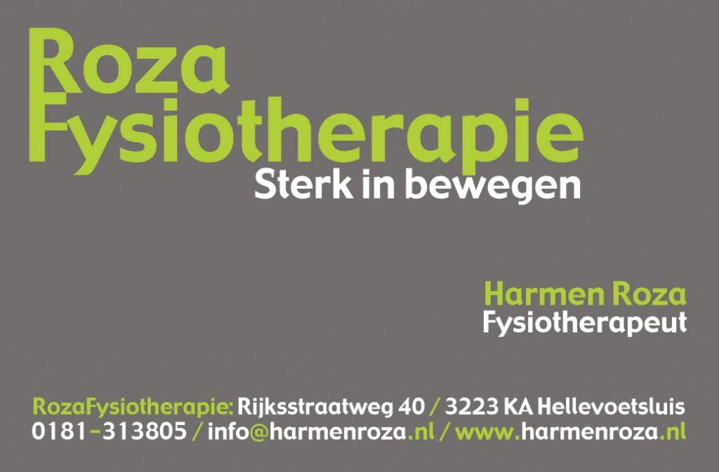 RozaFysiotherapie, fysiotherapie